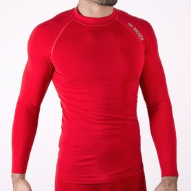 Long sleeve base layer red