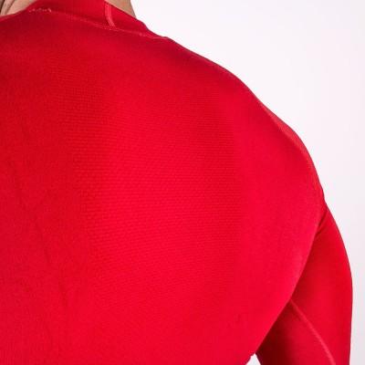 Camiseta térmica manga larga rojo