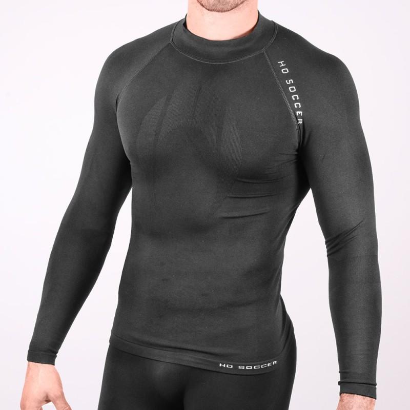 Camiseta térmica manga larga negra
