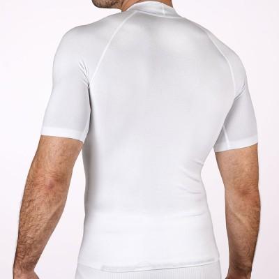 Camiseta térmica manga corta blanca