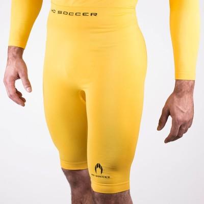 Malla térmica corta amarilla