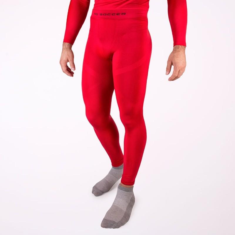 Malla térmica larga roja