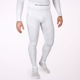 Thermal base layer long tights in white