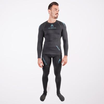 Camiseta manga larga térmica con protección
