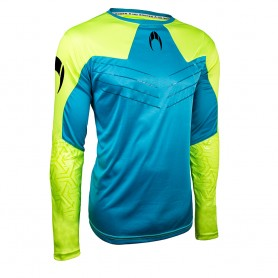 Jersey IKARUS blue/lime