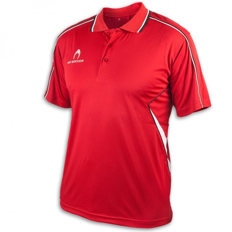 POLO PERFORMANCE ROJO