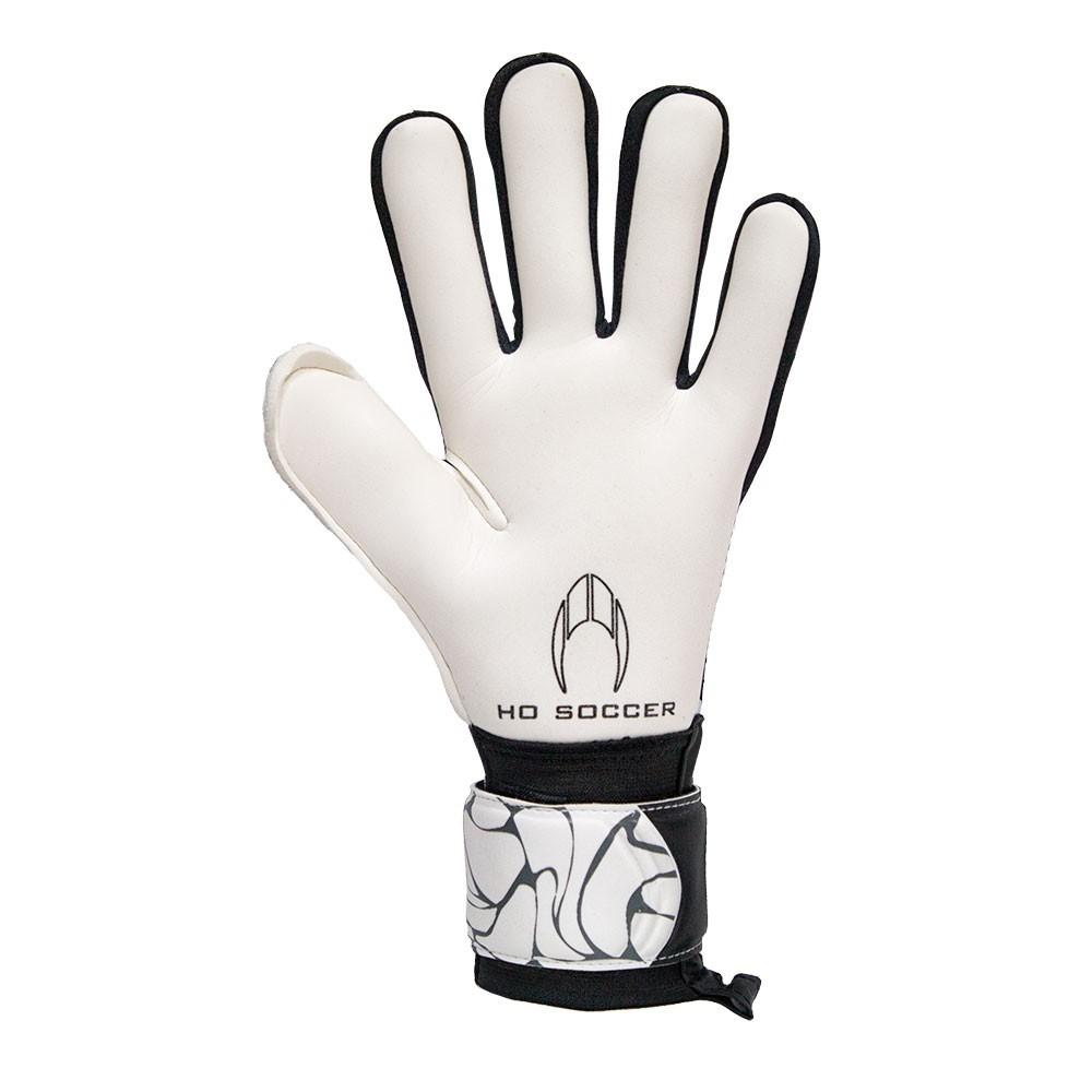 Unisex Adult White//Black HO Soccer First Superlight White Legend Goalkeeper gloves