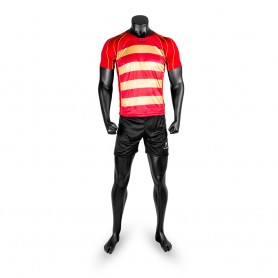 SET STRIPES RED