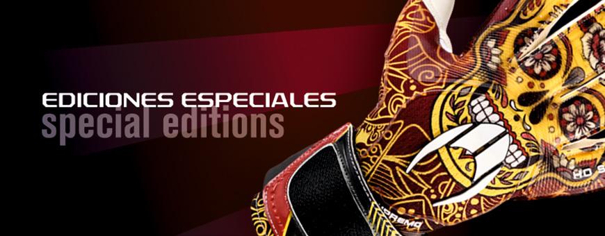 Ediciones especiales de guantes de portero